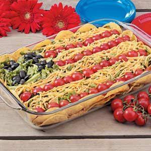 4th of July Taco Salad recipe