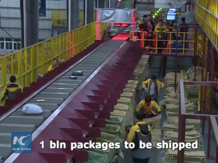 Chinese consumers have spent billions of dollars in a 24-hour online shopping spree known as Singles Day. An estimated one billion packages are to be shipped. JD.com, the country's biggest online direct retailer and Alibaba's top rival, has tested delivery by drone to customers. High-speed trains are also joining in, to transport some 27,500 tonnes of goods in the next 10 days. Besides, Alibaba's online marketplace Tmall has launched the world's first virtual reality (VR) shopping store, Buy…