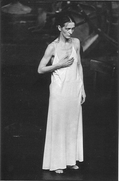 """I'm not interested in how people move, I'm interested in what moves them."" Pina Bausch"