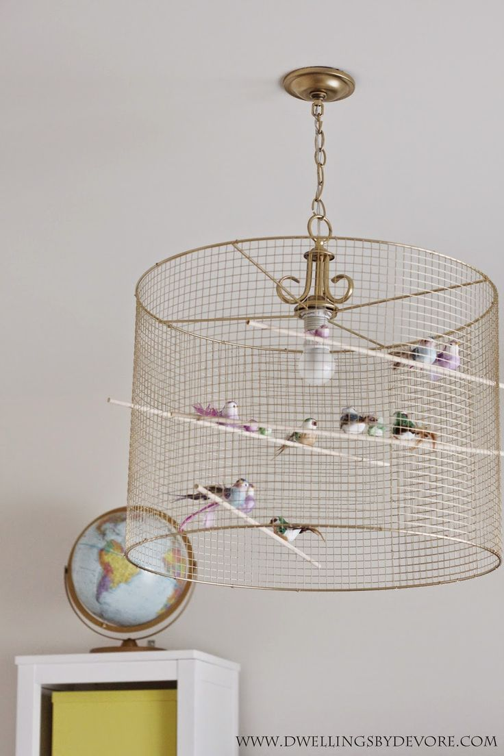 Metal Bird Cage String Lights : Best 25+ Birdcage light ideas on Pinterest