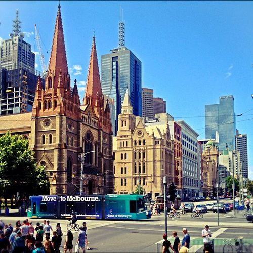 Cnr Swanston and Flinders St