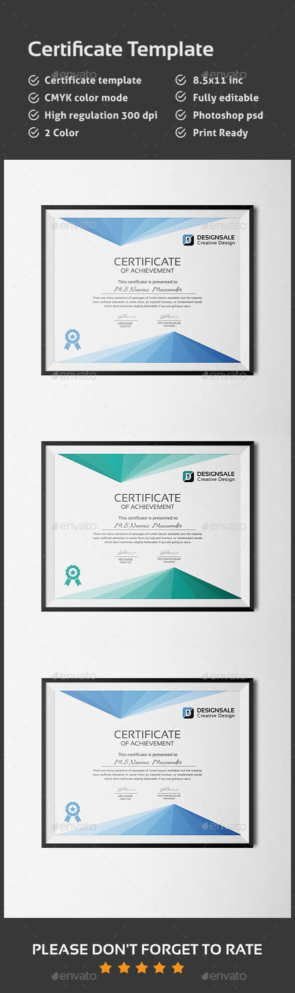123 best certificate templates designs images on pinterest certificate template this is a certificate template this template download contains 300 dpi print 1betcityfo Images