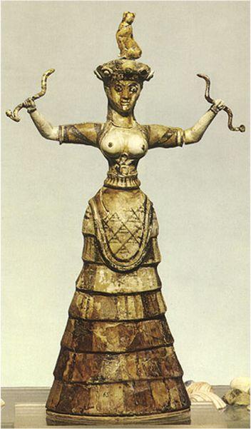 Una delle formulazioni dell'archetipo del Femminile nell'essere umano e nella sua progressione è la Grande Dea come Signora della vita e degli animali, così adorata soprattutto nella fa…