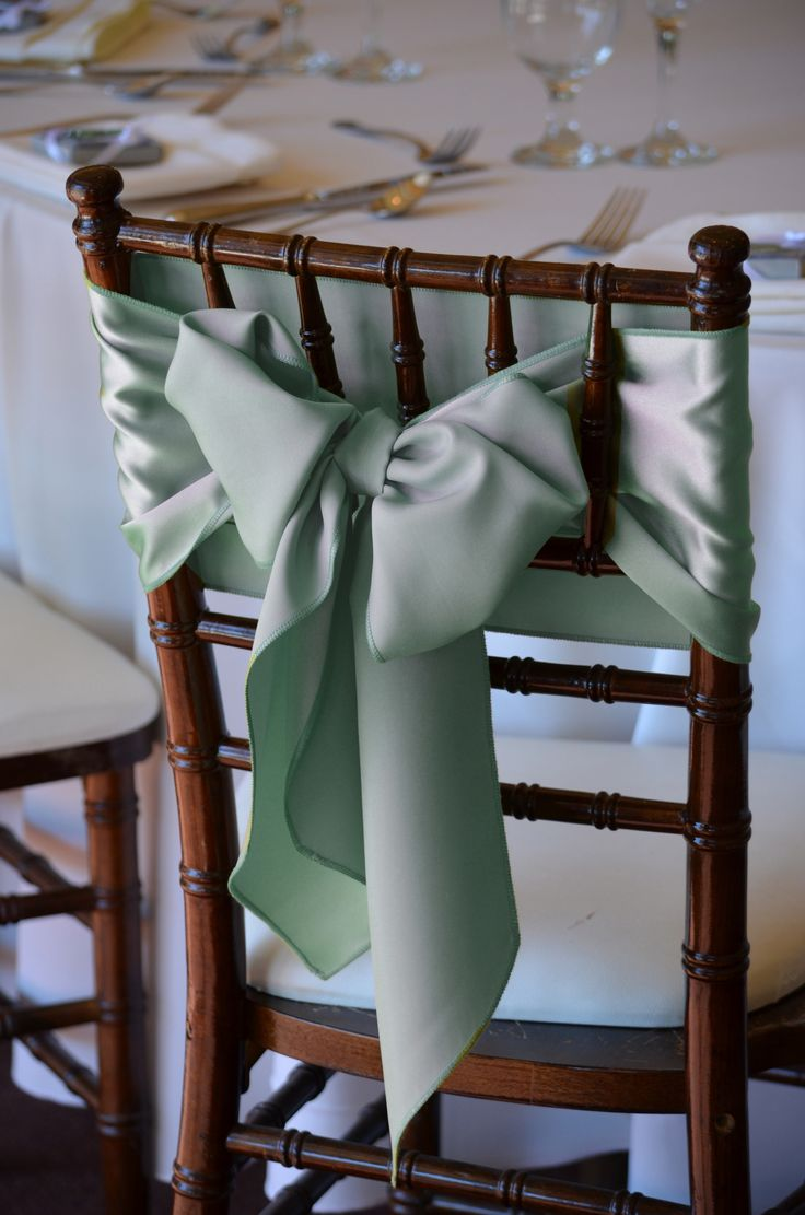 Beach wedding chair sashes - Find This Pin And More On Chair Tie Ideas