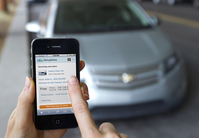 General Motors and OnStar partner with RelayRides to offer