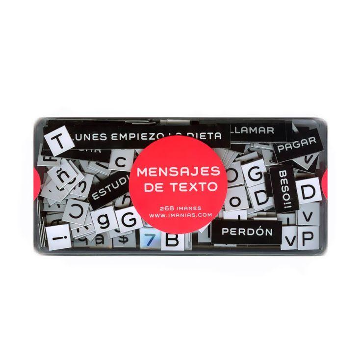 Imán Mensajes de Texto | Tienda Kitsch Argentina 80