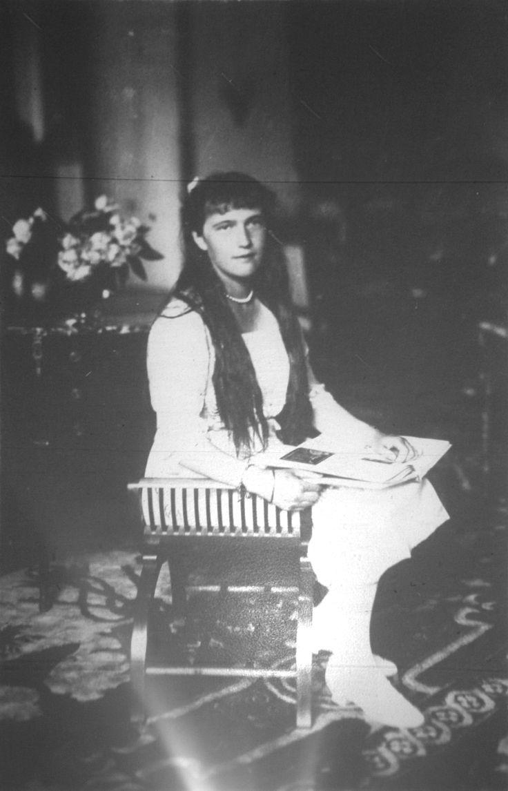 Grand Duchess Anastasia Romanov in 1916