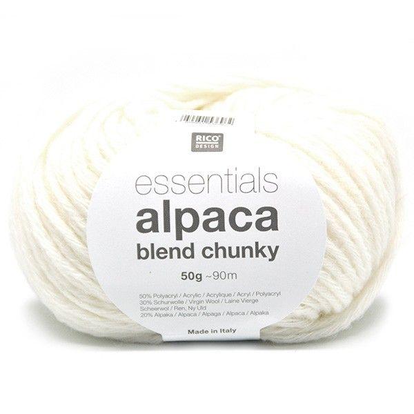 Rico Essentials Alpaca Blend Chunky - Wolplein.nl