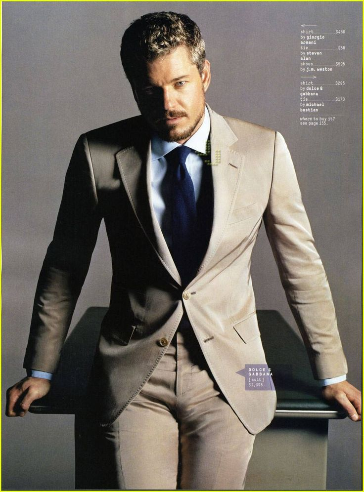 McSteamy Suits Up For GQ - Eric Dane @ JustJared.com