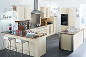 View the huge collection of fitted #kitchen #design at Paul Davies Kitchen and #appliances.