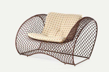 112 best unique wicker images on pinterest wicker patio for Funky modern furniture