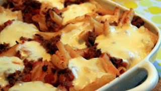 Agnethe - about a girl: Pastagratin med oksekød og mozzarella