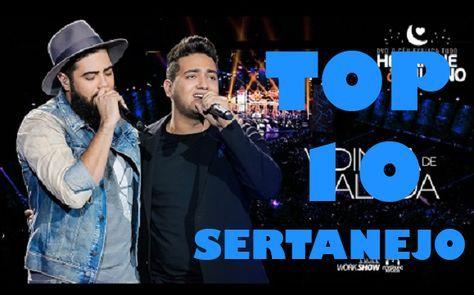 Confira o Top 10 músicas sertanejas mais tocadas. Ouça as músicas sertanejas que os ouvintes mais pedem nas rádios do Brasil.