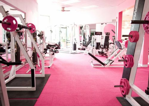 my dream: Fit, Pinkgym, Dreams Home, Workout Rooms, Work Outs, Dreams House, Home Gym, Homegym, Pink Gym