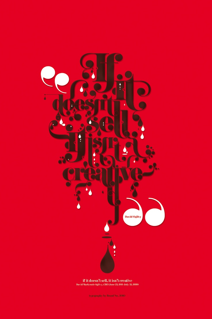 Poster design quotes - Find This Pin And More On Typographic Quotes By Jubaloodesign