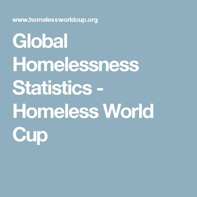 Global Homelessness Statistics - Homeless World Cup