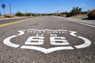 Route 66, California.