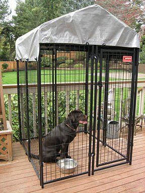 Uptown Patio, Modular Dog Kennels with Cover