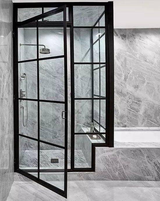 For en stilig innramming av dusjen Lyst på noe lignende? Ta kontakt for gratis befaring #rørkjøp cred: KK news