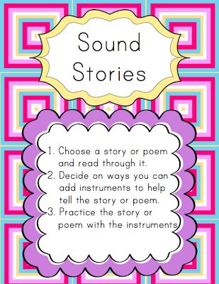 Elementary Music Resources: Search results for sound story