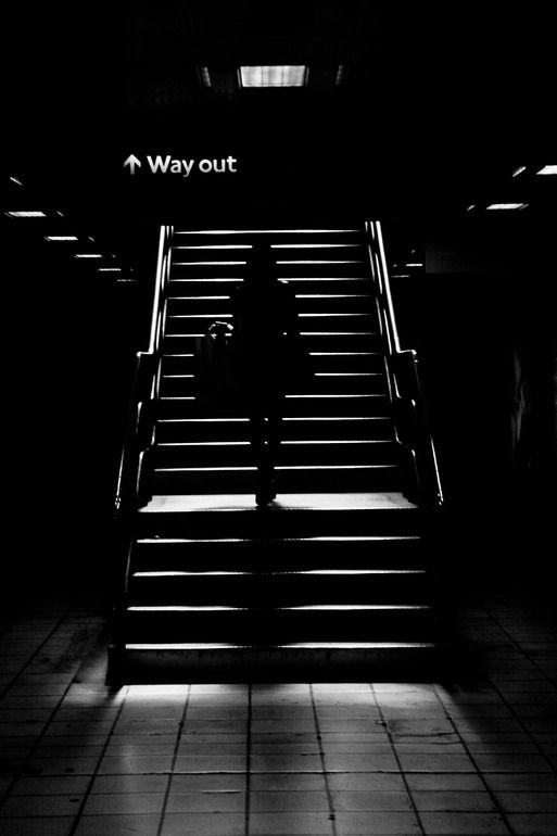 Black white · markus wachter digital 2008 photography way out