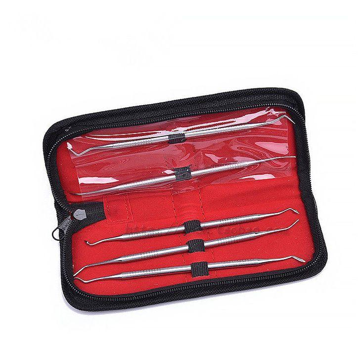 5pcs/set Dental Resin dresser plugger Resin filler Kit Dental instrument  #Ruier
