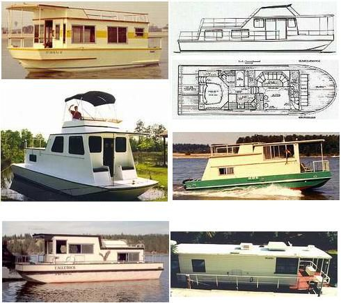 Houseboat Plans | Houseboat Plans on How to Build a Houseboat, with free plans as a ...