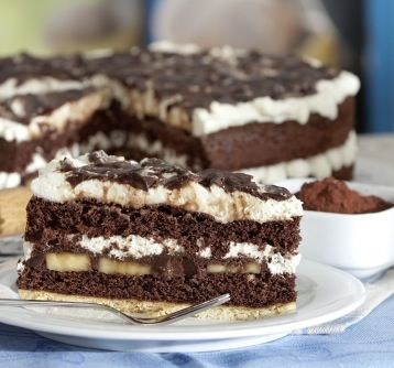 Bananen-Schoko-Torte