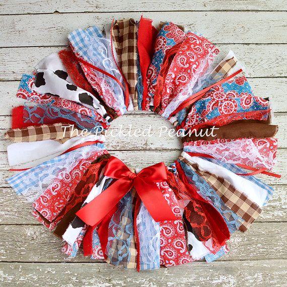 Cowgirl Tutu Cowgirl Skirt Shabby Chic Fabric Tutu Rodeo Skirt Rodeo Tutu Baby Skirt Baby Tutu 1st Birthday Cake Smash Gingham Paisley Girl
