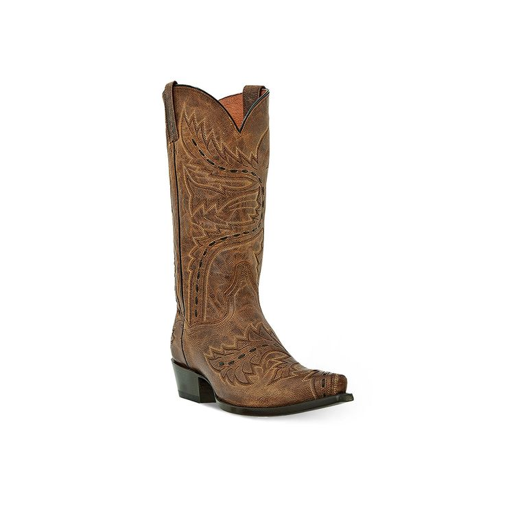 Dan Post Sidewinder Men's Cowboy Boots, Size: medium (10.5), Med Brown