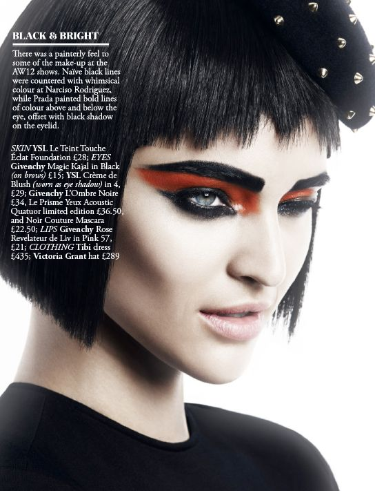 Beauty Editorial - The Faces of AW12 6