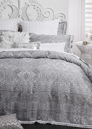 Logan & Mason - Allambra Dove Quilt Cover Set