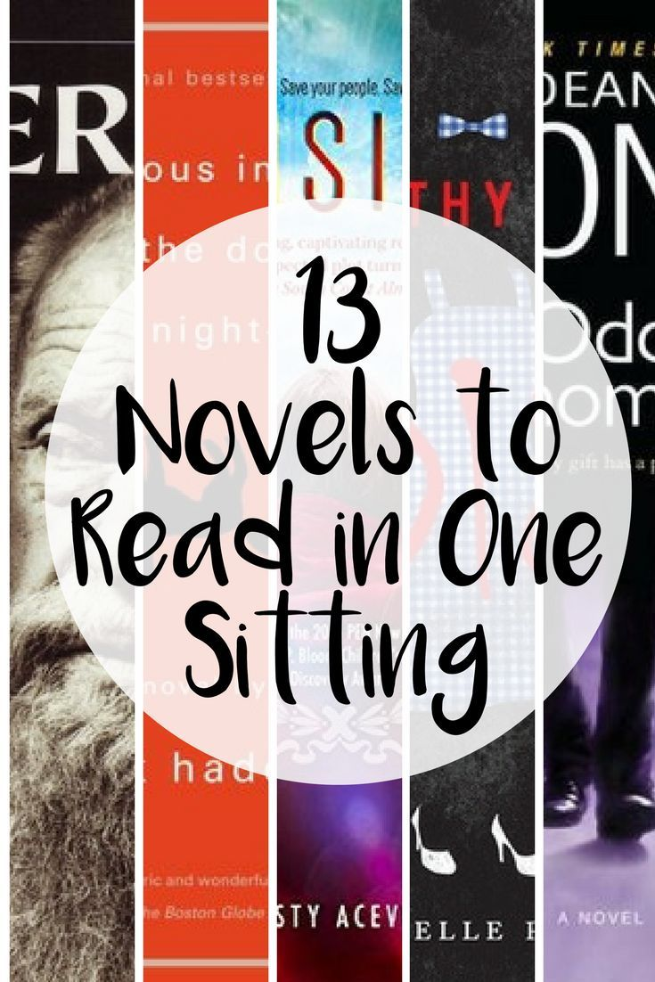 13 novels so good, you won't want to put them down!