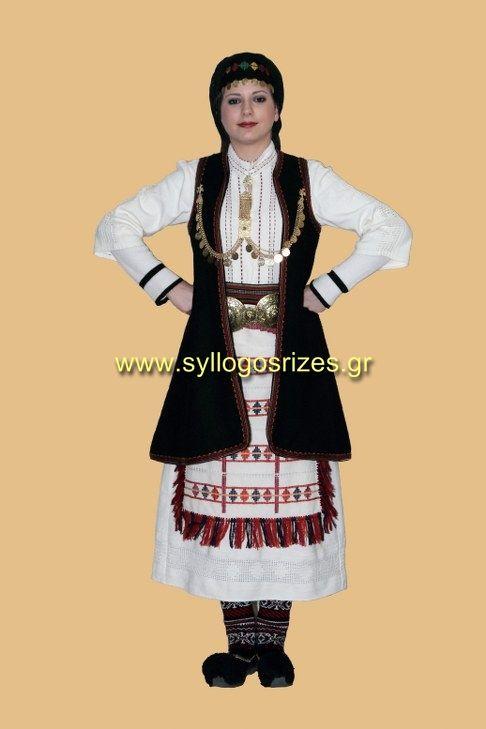 Εργαστήρι Λαογραφικών Μελετών & Κατασκευής Παραδοσιακών Φορεσιών - Παραδοσιακή Ενδυμασία Σουλίου  -  Πανελλήνιος Λαογραφικός Σύλλογος «ΟΙ ΡΙΖΕΣ» - www.syllogosrizes.gr