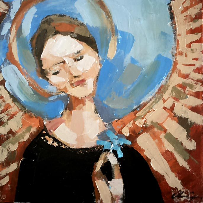 anjos  3 #angel #Painting