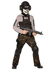 skull commando child costume plan your halloween mission and execute it flawlessly in this scary looking skull commando child costume - Spirit Halloween Medford Ma