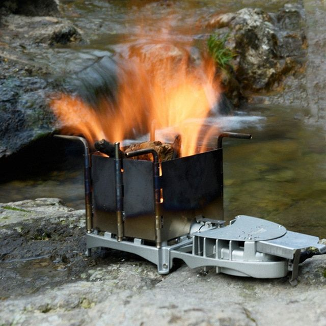 BRS 6000W Outdoor Wood Burning Stove Portable Palm…