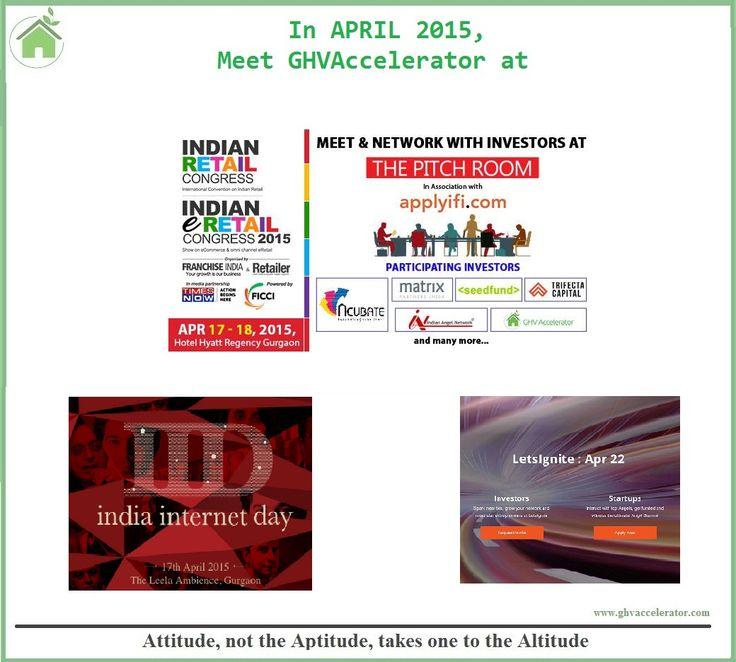 Meet @GHVAccelerator @VikramUpadhyaya @anurag_kap at #eRetailCongress2015 #LetsIgnite #IndiaInternetDay #GHV #startup