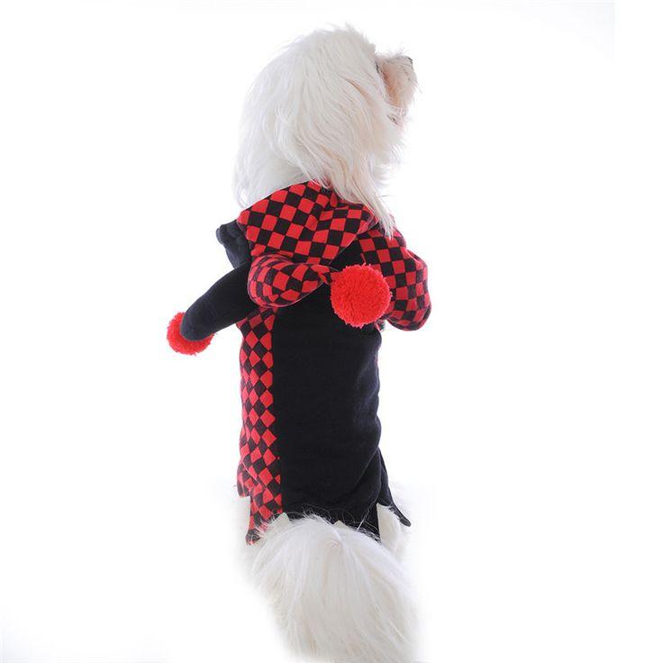 Собак Pet Cat Одежда Толстовки Хэллоуин Косплей Клоун Костюмы Щенок Котенок С Капюшоном Одежда Одежда для Маленьких Собак Щенка Котенка купить на AliExpress
