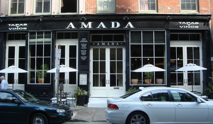 thankful we have one closer to us, but discovered the delicousness in Philly. Facade. Amada Restaurant, Philadelphia.