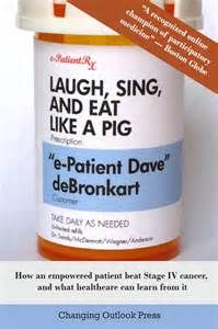 Read laugh, sing and eat like a pig by e-patient dave