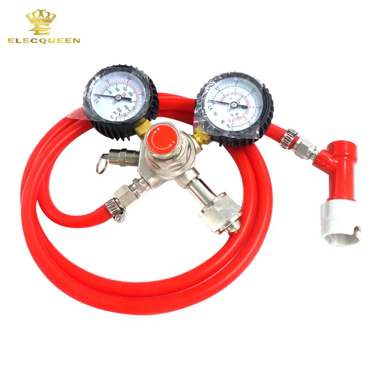 Beer Kegerator Conversion Kit Gas Pin Lock with Co2 Regulator Dual Gauge W21.8 and 1m beer line,high quality