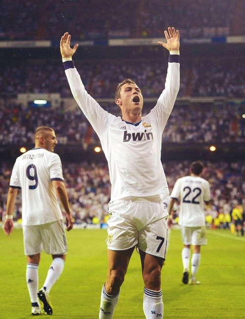 Cristiano Ronaldo, ídolo de ídolos