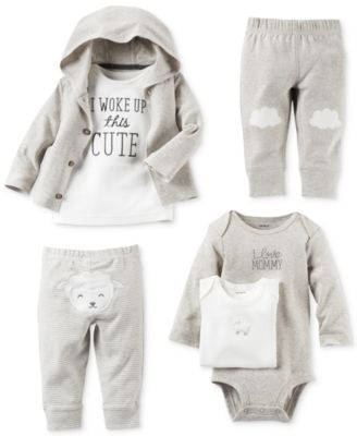 Carter's Baby Boys' or Baby Girls' Neutral Little Lamb Clothing Sets | macys.com