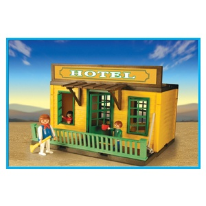 Playmobil 1-3426 Western Miners Hotel_Antex Argentina // Available - Shipping worldwide
