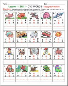 56 Free Phonics Worksheets and Phonemic Awareness Activities