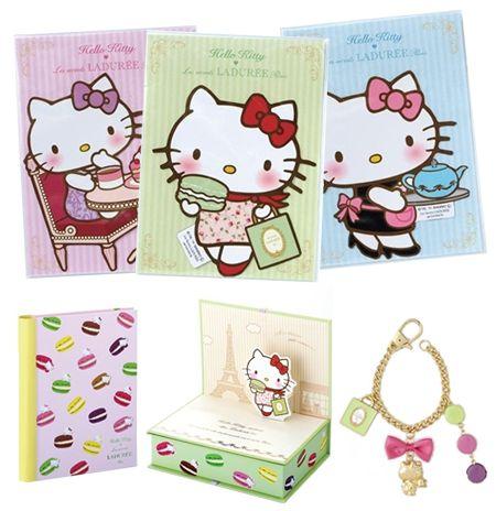 La Durée Macaron Hello Kitty Gift