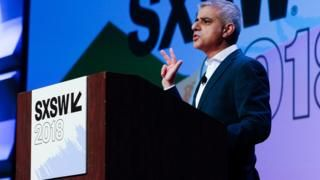 London Mayor Sadiq Khan speaks out about racist online abuse -  London Mayor Sadiq Khan speaks out about racist online abuse                                                                                                13 March 2018                                    Image copyright                  REUTERS/Suzanne CordeiroImage caption                                      London Mayor Sadiq Khan wants tech firms to take hate speech more seriously                                The Mayor of…