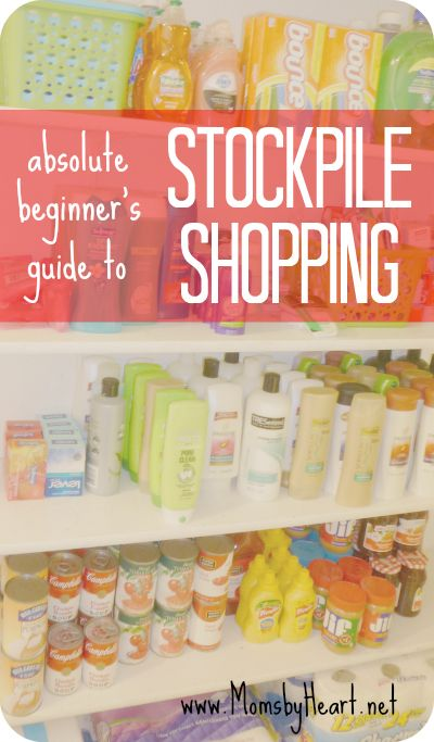 Absolute Beginners Guide to Stockpile Shopping - momsbyheart.net