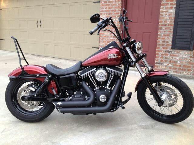 My 2013 Harley Davidson Street Bob